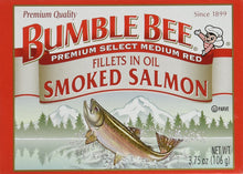 Bumble Bee Smoked Salmon Fillets in Oil 3.75oz can (Pack of 6) - Buy Fast delivery