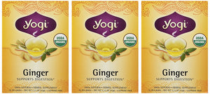 Yogi Ginger Tea ,16 Count (Pack of 3) - Buy Fast delivery
