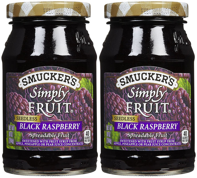 Smucker's Seedless Black Raspberry Simply Fruit Spread - Buy Fast delivery