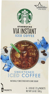 Starbucks VIA Iced Coffee, 6-Count Packages (Pack of 2) - Buy Fast delivery