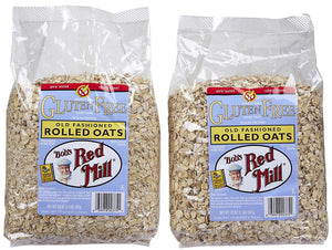 Bob's Red Mill Gluten Free Whole Grain Rolled Oats, 32 oz, 2 pk - Buy Fast delivery
