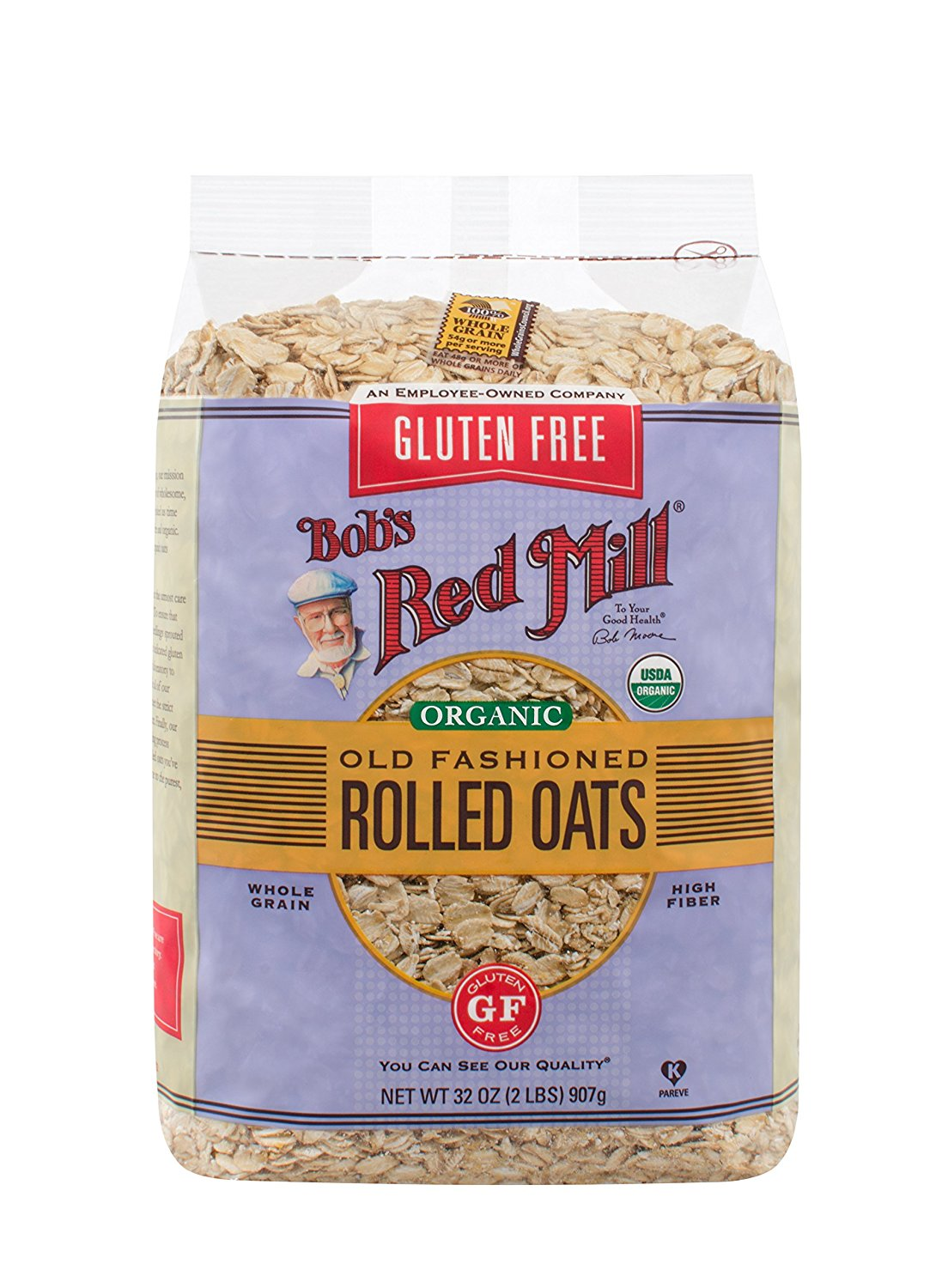 Bob's Red Mill Gluten Free Organic Old Fashioned Rolled Oats - Buy Fast delivery