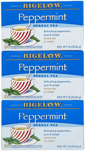 Bigelow Tea, 20 Bags - Purely Peppermint (3 Pack) - Buy Fast delivery