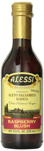 Alessi, White Balsamic Raspberry Vinegar, 8.50-Ounce (Pack of 6) - Buy Fast delivery