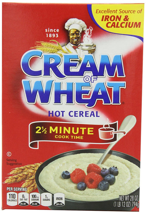 Cream of  Wheat, Original Stove Top, 2.5 Minutes, 28 Ounce Boxes (Pack of 4) - Buy Fast delivery