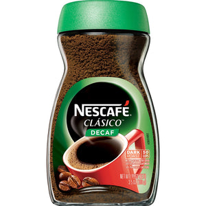 Nescafe Clasico Decaf Instant Coffee, 3.5 oz - Buy Fast delivery