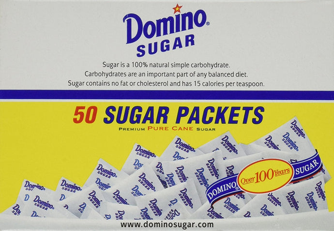 Domino Sugar Packets, 50 Count (Pack of 1) - Buy Fast delivery