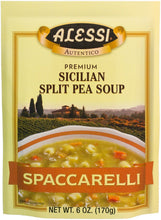 Alessi Split Pea Soup, 6-Ounce Packages (Pack of 6) - Buy Fast delivery
