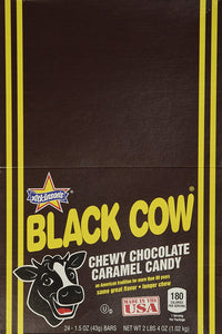 Black Cow Chocolate Caramel Candy 24ct. - Buy Fast delivery