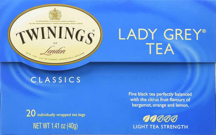 Twinings Lady Grey Tea (3x20 bag) - Buy Fast delivery