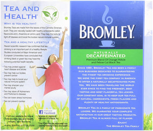 Bromley Naturally Decaffeinated Tea 48 ct - Buy Fast delivery