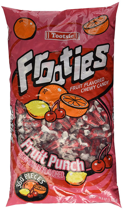 Frooties 360 Piece Bag Fruit Punch - Buy Fast delivery
