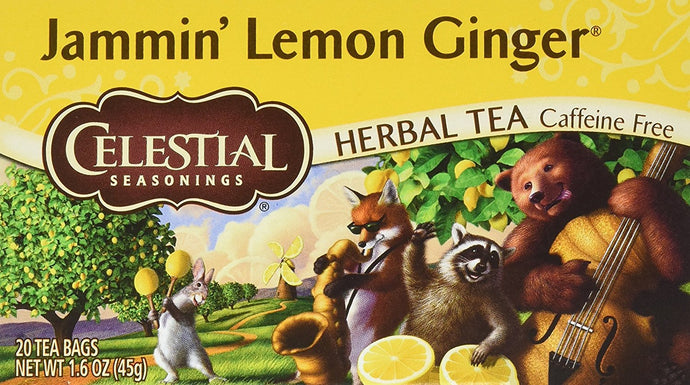 Jammin Lemon Ginger 20 Bags (Case of 6) - Buy Fast delivery