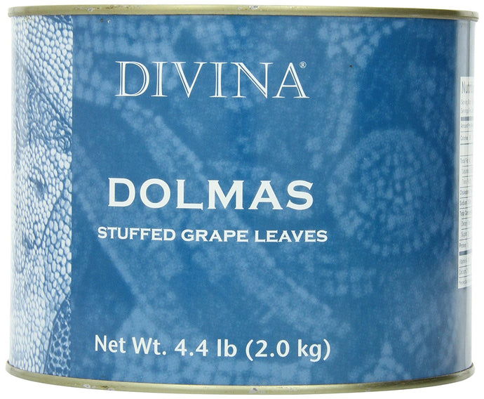 Divina Dolmas Stuffed Grape Leaves, 4.4 lb.  Can - Buy Fast delivery