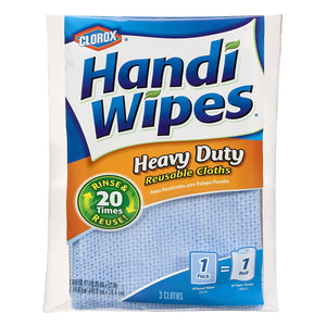 Clorox Handi Wipes Heavy Duty Reusable Cloths, 3 Count - Buy Fast delivery