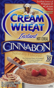 Cream of Wheat, Cinnabon Flavored, 10ct Box, 12.3oz (Pack of 3) - Buy Fast delivery