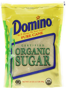 Domino Pure Cane Organic Sugar - 24 oz - Buy Fast delivery