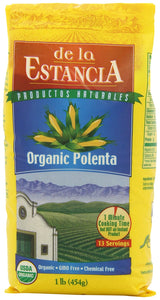 De la Estancia Organic Polenta, (Pack of 6) - Buy Fast delivery