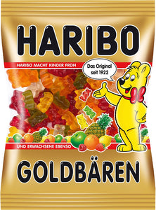 Haribo Goldbaren (Gold Bears) - Pack of 6 - Buy Fast delivery