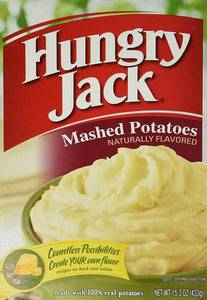 Hungry Jack Potato Hungry Jack Mashed Potatoes, 15.3-Ounce (Pack of 6) - Buy Fast delivery