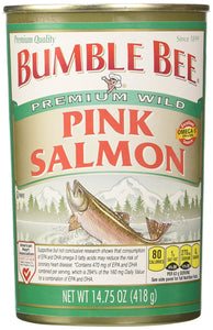 Bumble Bee Salmon Pink Canned, 14.75-Ounce Cans (Pack of 4) - Buy Fast delivery