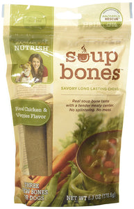 Rachael Ray Nutrish Soup Bones - Real Chicken & Veggies - 6.3oz - Buy Fast delivery