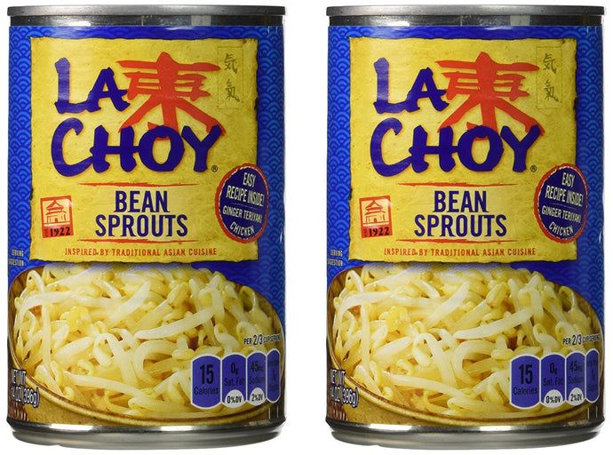 La Choy BEAN SPROUTS Asian Cuisine 14oz (2 pack) - Buy Fast delivery