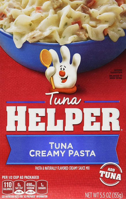 Betty Crocker TUNA CREAMY PASTA Tuna Helper 5.5oz (2 Pack) - Buy Fast delivery