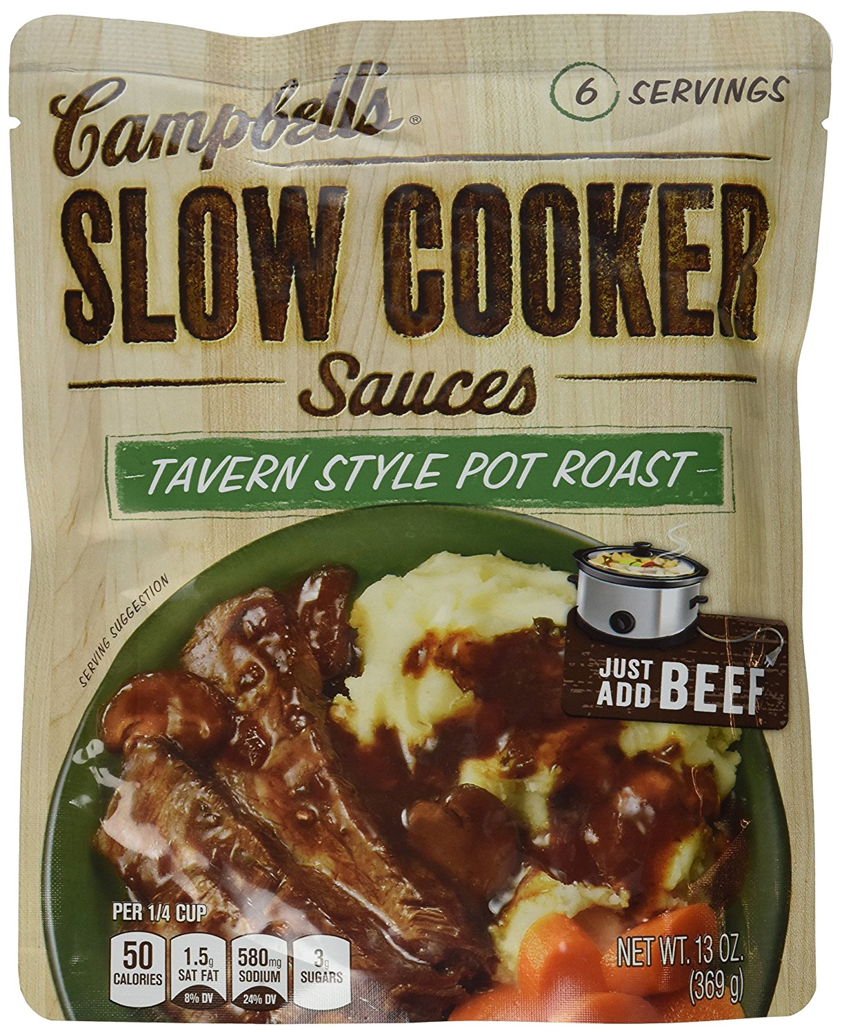 Campbell's Slow Cooker, Tavern Style Pot Roast (3 Pack) - Buy Fast delivery