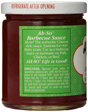 Ah So Chinese Barbecue Sauce, 11 Ounce - Buy Fast delivery