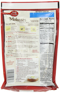 Betty Crocker Cookie Mix Molasses 17.5 oz Pouch (pack of 6) - Buy Fast delivery