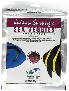 Two Little Fishies ATLSVPS4 Sea Veg-Purple Seaweed, 1-Ounce Pouch - Buy Fast delivery
