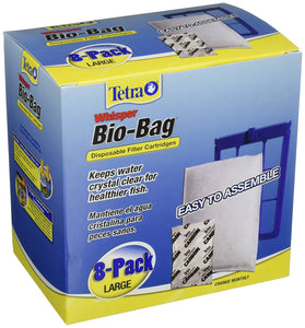 Tetra Whisper Unassembled Bio-Bag Filter Cartridges - Buy Fast delivery