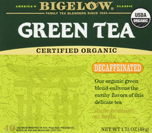 Bigelow Tea, 40 Bags - Organic Decaffeinated Green (2 Pack) - Buy Fast delivery