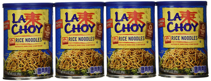 La Choy, Rice Noodles, 3oz Canister (Pack of 4) - Buy Fast delivery