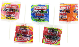 Charms 48 Pack Sweet & Sour Pops - Buy Fast delivery
