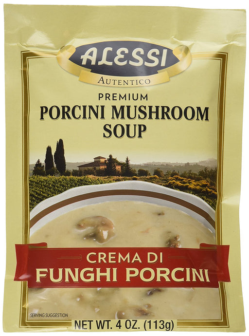 Alessi Porcini Mushroom Soup Mix, 4 Ounce (Pack of 6) - Buy Fast delivery