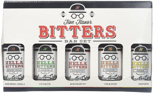 Hella Five Flavor Bitters Bar Set - Buy Fast delivery