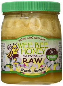 Wee Bee Raw Honey - Natural - 32 oz - Buy Fast delivery
