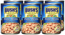 Bush's Best Pinto Beans -16 oz cans (Pack of 6) - Buy Fast delivery