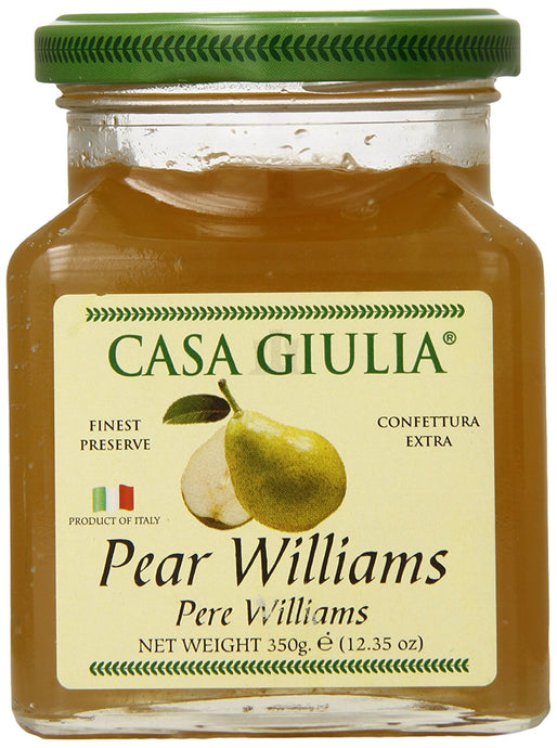 Casa Giulia Jam, William Pear, 12.35 Ounce - Buy Fast delivery