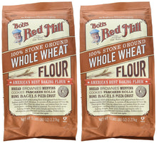 Bob's Red Mill Whole Wheat Flour - 5 lb - 2 pk - Buy Fast delivery