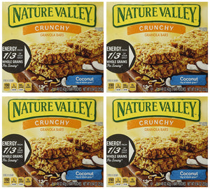 Nature Valley Crunchy Granola Bar, Coconut, 8.94 Ounce 4 Pack - Buy Fast delivery