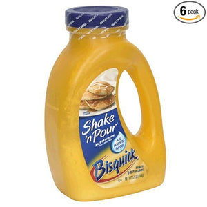 Bisquick Shake'N Pour Buttermilk Pancake Mix (Pack of 6) - Buy Fast delivery