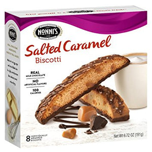 Nonnis Biscotti Salted Caramel - Buy Fast delivery