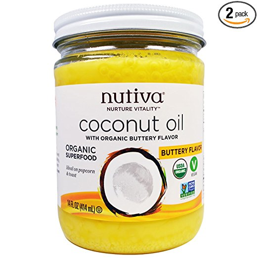 Buy Nutiva, Organic Coconut Oil Fast Delivery