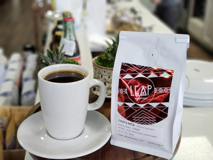 Get a Free Coffee with any Purchase of Whole Bean Coffee Bags
