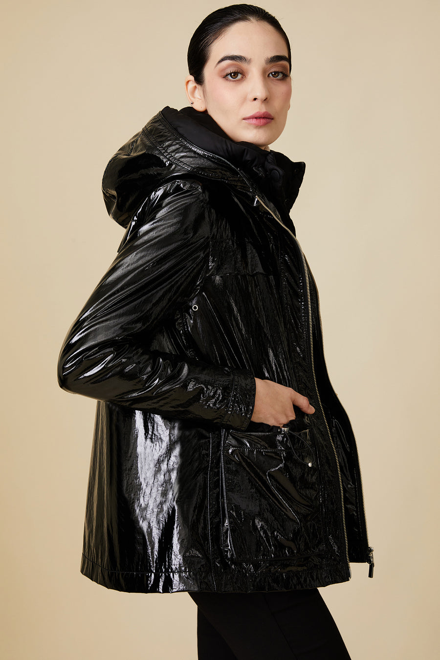 Quilted Double City Coat