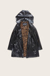 Faux-Fur Lined Iconic Princess Slicker