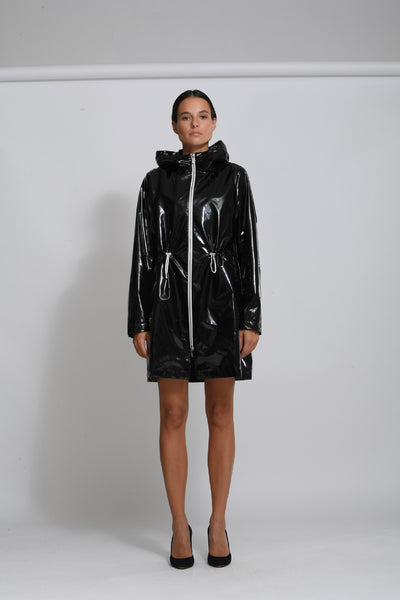 LIGHT SLICKER PARKA